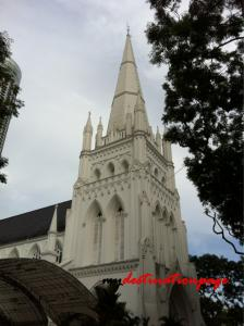 St. Andrew's Cathedral Tower - Singapore
